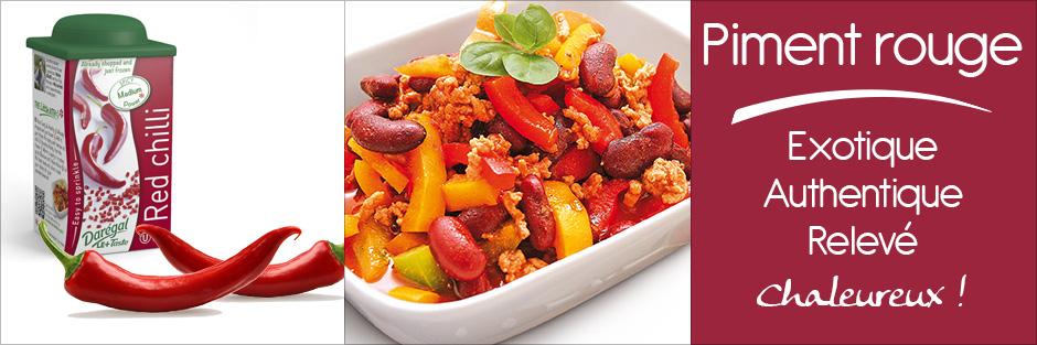 Darégal - produit - piment rouge