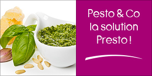 Newsletter 02 : Pesto & Co la solution Presto !