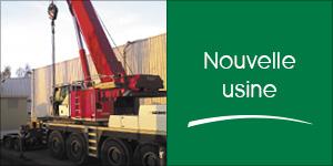 Darégal investit dans la construction d'une nouvelle usine à Milly-la-Forêt.