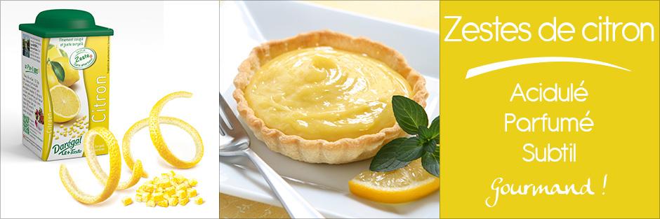 Darégal - produit - Zestes de citron