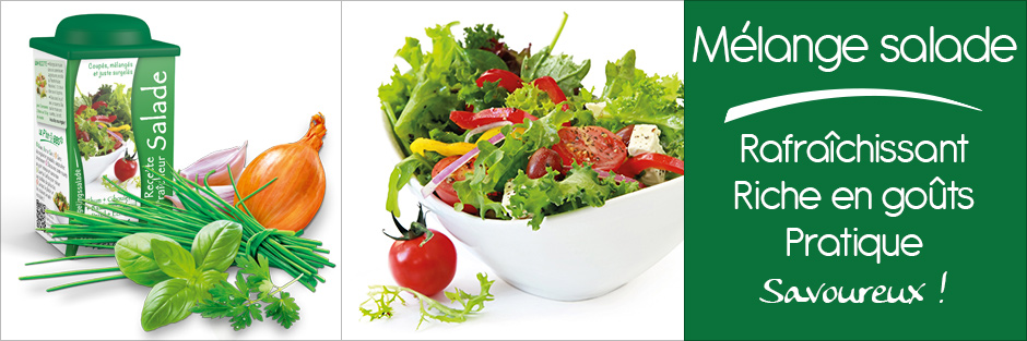 Darégal - Produit - Mélange salade
