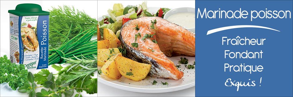 Darégal - produit - Marinade poisson
