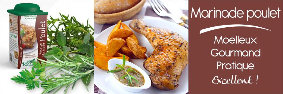 Darégal - produit - Marinade poulet