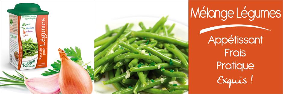 Darégal Mélange pour légumes