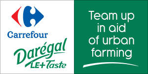 Darégal and Carrefour team up in aid of urban farming