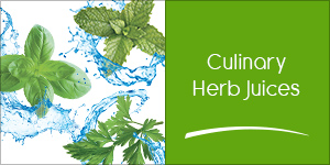 Culinary Herb Juices