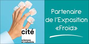 Darégal, partenaire de l'Exposition «Froid» à la Cité des Sciences et de l'Industrie